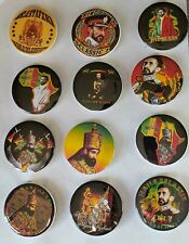 SELASSIE I PINBACK BUTTONS