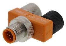 Belden Tee 5 Pole M12 Socket Plug Adapter, Nickel Plate, 33mm