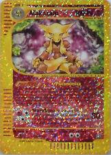 "POKEMON ""ALAKAZAM"" - CARD JUMBO 1/12- cm. 12,7X9,2-Foil-Italiano"
