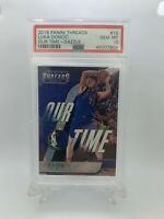 2018 Panini Threads Our Time Dazzle Luka Doncic  #15 Rookie Card PSA 10 Pop 25!