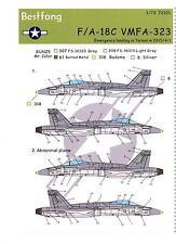 Bestfong Decals 1/72 MCDONNELL DOUGLAS F/A-18C HORNET VMFA-323