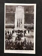 More details for vintage postcard: royalty #a145: unknown warriors cortege cenotaph 1920