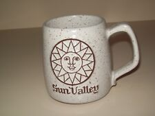Vintage Sun Valley ID Onion River Pottery Coffee Tea Mug Cup Made in Vermont USA