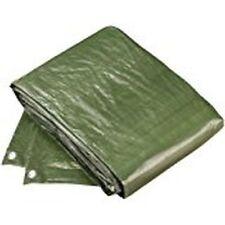 2 x Abdeckplane oliv grün 100 g/m² UV beständig ,für Garten,Holz 3 x 4 m