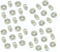 Tibet Silber Perlen Metall Spacer Metallperlen 6mm Donut  40stk  F240