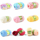 New 6colors Soft Bamboo Crochet Cotton 50g Knitting Yarn Baby Knit Wool Yarn