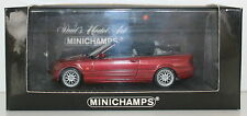 MINICHAMPS BMW Diecast Cars