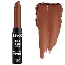 NYX Cosmetics High Voltage Lipstick, Dirty Talk (Rich Brown)