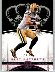 2017 Preferred Crown Royale Purple Foil Clay Matthews #d /249 Parallel Packers