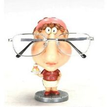 Waitress Eyeglass Glasses Holder Stand Nose Rack Reading Spectacles Specs Gift