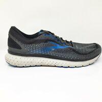 Brooks Mens Glycerin 18 1103292E064 Black Running Shoes Lace Up Size 12.5 2E