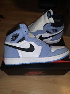 Nike Air Jordan 1 Retro High OG University Blue Size 11 IN HAND 555088 134
