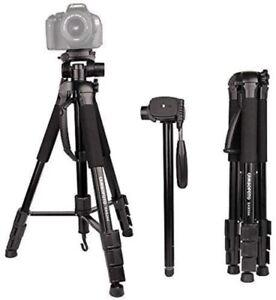 """CAMBOFOTO Camera Tripod 70"""" Travel Tripod/Monopod(65"""") with Bubble Level and"""