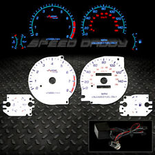 AUTO CONCEPT REVERSE INDIGLO GLOW GAUGE FOR 95-99 DODGE AVENGER WITH OIL GAUGE