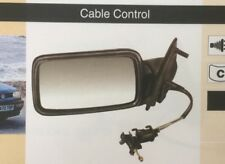 VW Golf III 92-98 Black Door Mirror  RH Cable Control   NEW   ADM132