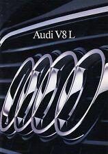 AUDI V8 L Long Wheelbase Prospekt 1990 +++++++++++++++++++++++++++++++++++++++++