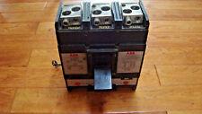 ABB CIRCUIT BREAKER 600AMP 3POLE 600VAC ISSUE NO. MJ-278