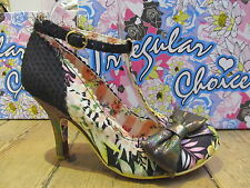 Mary Janes Irregular Choice Slim Heel Shoes for Women