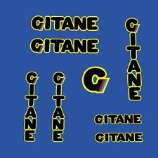 Gitane 1983 Team Pro Bicycle Decals, Transfers, Stickers n.830