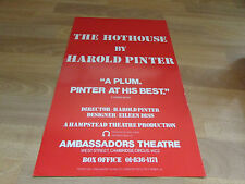 THE HOTHOUSE by Harold Pinter AMBASSADORS Theatre Poster