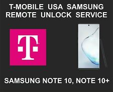 T-Mobile USA Samsung Remote Network Unlock, Samsung Note 10, Note 10 Plus
