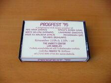 PROGFEST '95 original cassette from 1995. SPOCK'S BEARD ARS NOVA WHITE WILLOW