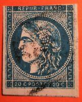 Céres émission de Bordeaux- N° 45 type II Rep 3 (TB-1049-4) Oblit Los : PC