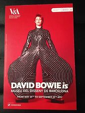 DAVID BOWIE is PROMOTIONAL FLYER BARCELONA 2017 ENGLISH (SMALL)