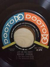 REDD FOXX (COMEDIAN) THE NEW SOAP-THE JACKASSES DOOTO RECORDS 215
