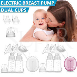 Intelligent Electric Breast Pump Automatic Milk Suction Baby Feeder Double Side
