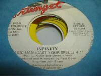 HEAR! Modern Soul Boogie 45 INFINITY Magic Man (Cast Your Spell) on Trumpet