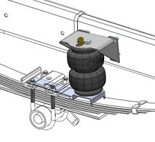 Dodge Dakota Tow Assist Air Bag Overload Suspension Airride Kit 5000lbs heavy