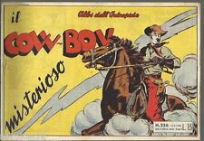 EDIZIONE UNIVERSO- ALBI DELL'INTREPIDO # 226-15/5/1950-IL COW BOY MISTERIOSO