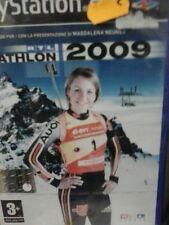 RTL BIATHLON 2009 GIOCO NUOVO SONY PLAYSTATION 2 PS2 EDIZIONE ITALIANA PAL PG230