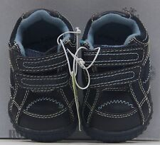 Jumping Beans Navy Blue Crib Slip On Sneaker Toddler Shoes Size 2 NWT