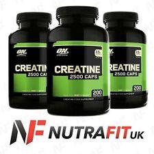 OPTIMUM NUTRITION CREATINE 2500 creatine monohydrate 200 caps