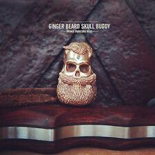 Bead for Knife, Bracelet, Bushcraft Ginger Beard Skull Buddy Paracord Lanyard