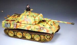 king & country  WS176 54mm ww2 German Panther Ausf.A tank & crew  2008  mib oop