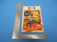 1967 Italian Recipes Wonderful World Cooking & Homemaking 28 Pages Coupons S991