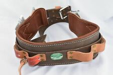 Buckingham Drs Utility Lineworker Tree Climber Double 2 D Ring Body Belt Size 24