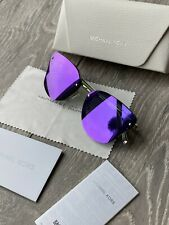 Michael Kors MK2068 Sanibel Cat Eye Mirror Sunglasses Michael Kors Sunglasses