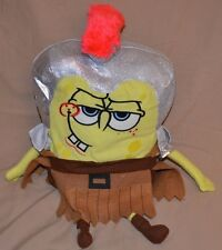 "20"" Sir Spongebob Squarepants The Knight Warrior Plush Dolls Toys Nanco 2007"
