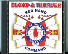 blood and thunder pride of the village music cd orange order loyalist ulster rfc
