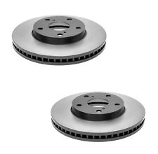 New Pair Set of 2 Front Disc Brake Rotors ACDelco Pro For ES300 Avalon Camry