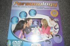PERSONOLOGY GUESS THE CELEBRITY  DVD BOARD GAME - - AGE 8+