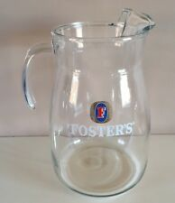 FOSTERS 4 PINT BAR JUG - PITCHER - Ideal for Home Bar - Pub
