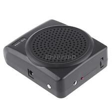 New Mini 8 Portable Multi Voice Changer Microphone Megaphone Loudspeaker Black