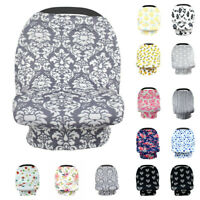 Multi Use Materity Nursing Cover Top Baby Kids Car Seat Cover Stroller Canopy ED