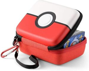 Pokemon Travel Carrying Trading Card Case Holds 400 Cards Removable Hand Strap