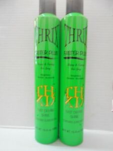 THRIX FASTER PLUS Shaping and Finishing Volume Hair Spray ~(2 Pack)~ 10.6 fl oz!
